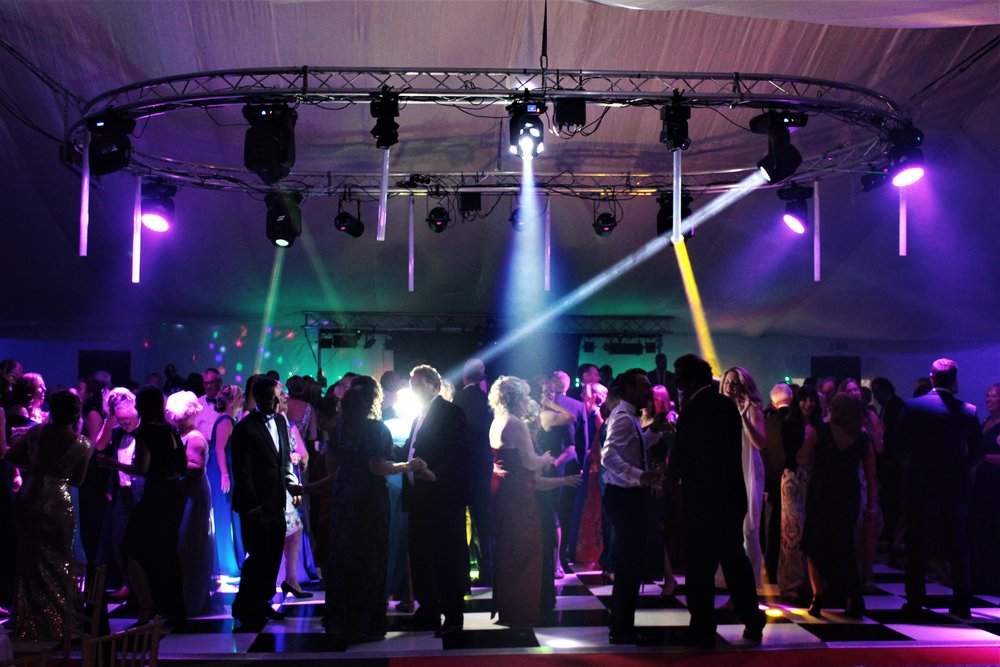 Lighting. - We have a wide selection of lighting effects giving great depth to any occasion. From painting a castle in deep rich colour to uplighters that can give a room true depth, with hundreds of colour options and variations to match your events colour scheme.