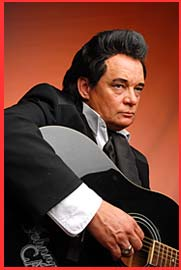 Philip Bauer..  as Johnny Cash