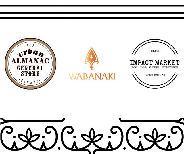 Did you know that we're partners with some local businesses? If you purchase our products online, you can pick them up at the Urban Almanac in Fredericton, or at the Impact Market in Saint John! Don't miss out the opportunity, order online and swing by one of the stores to pick them up on Thursday or Friday!