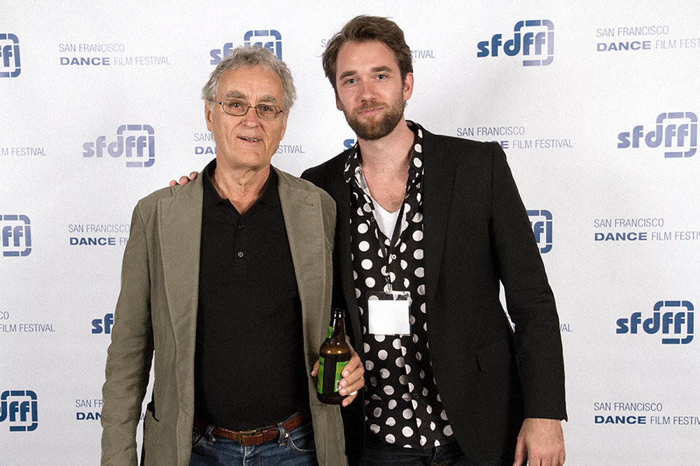 with Fritjof Capra at San Francisco film festival