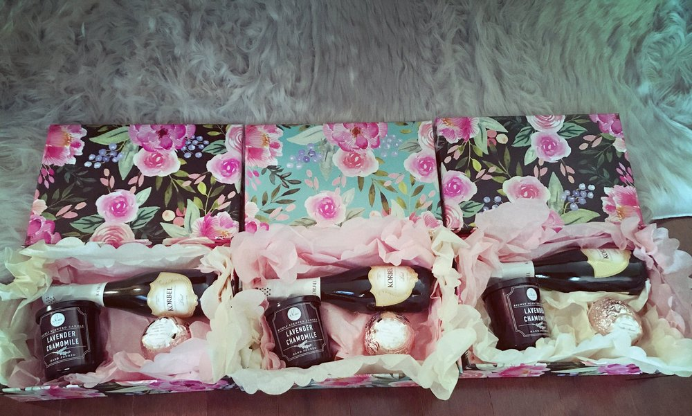 Bridesmaid proposal boxes