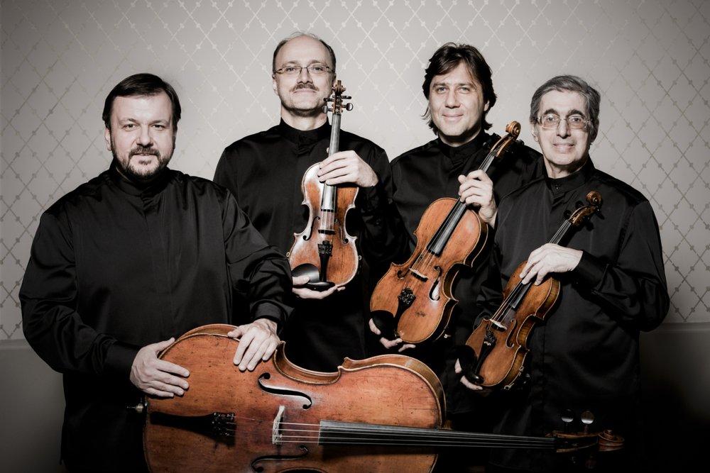 Borodin Quartet © Photography by   Simon Van Boxtel