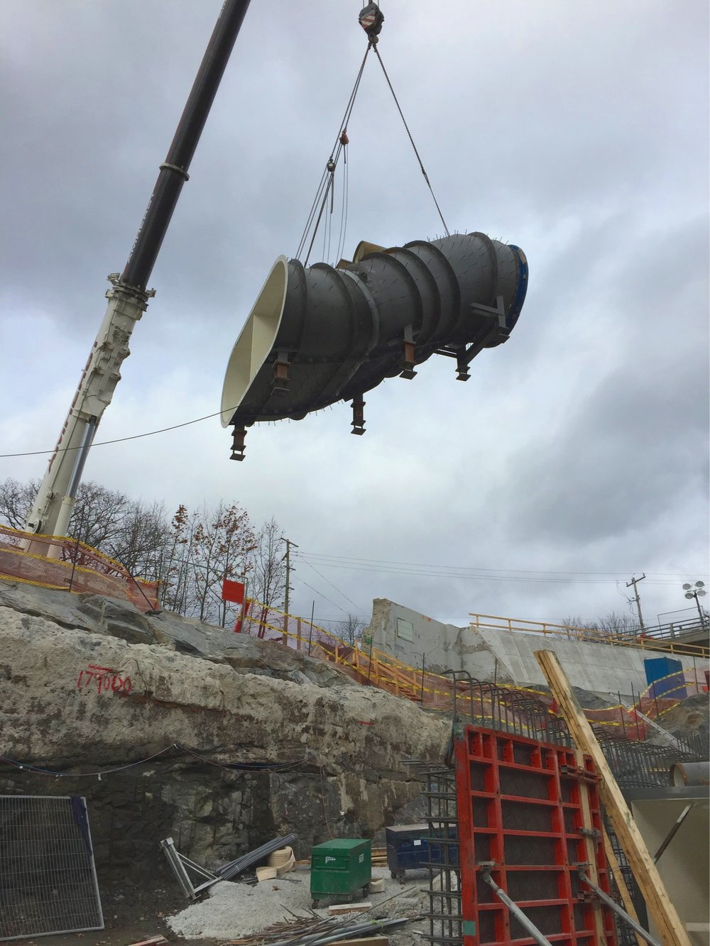 - Embertech completed the installation of the penstock and draft tubes with a level of skill and expertise that enabled the construction schedule to stay on track, on schedule without any issues or concerns.
