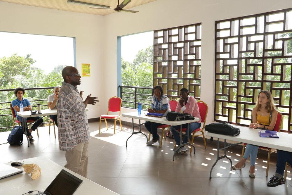 Prof. Yaw Nyarko Brings Students to Rural Ghana for Summer Field Research Internship