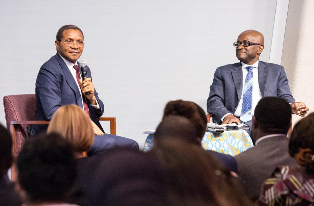 Prof. Yaw Nyarko Moderates Book Reading with H.E. Dr. Jakaya M. Kikwete, Former President of the United Republic of Tanzania