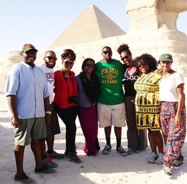 Us in Egypt