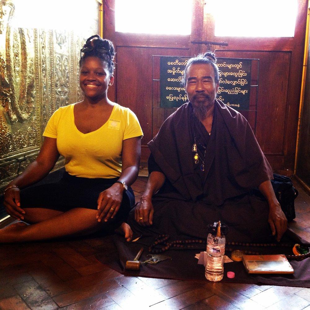A Prophet & I at Sule Pagoda - Yangon