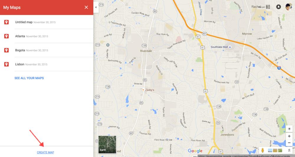 Rachel Travels - Google Maps - Create a Map