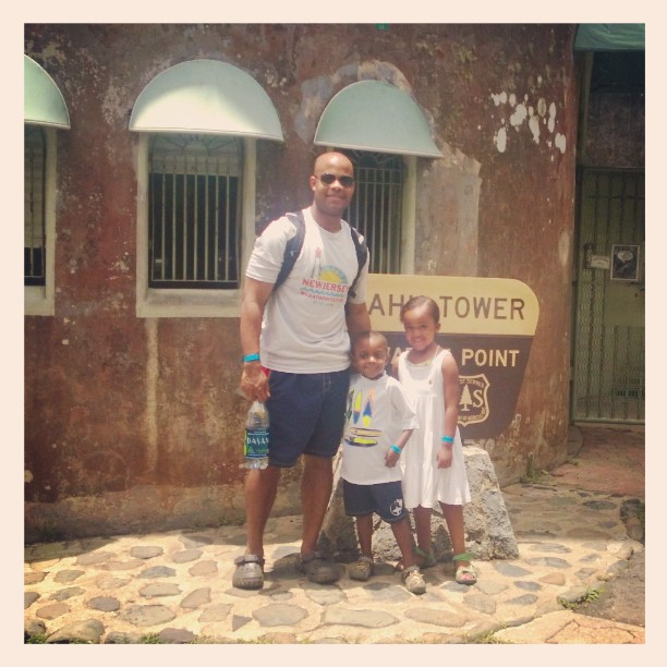 Puerto Rico Dad and Kids