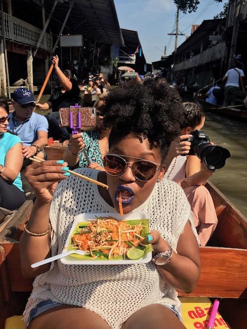 Floating Market Bangkok Thailand 48 Hour Travel Guide RachelTravels.com
