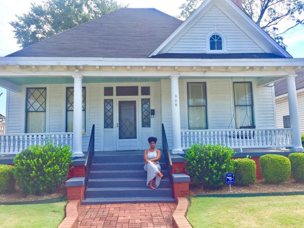 Dexter Parsonage Museum Montgomery, Alabama - RachelTravels.com