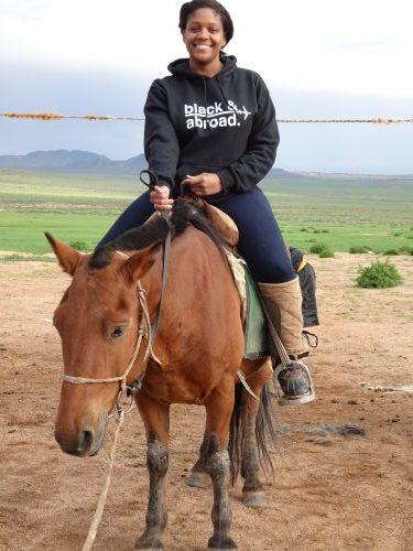 Horseback Riding in Gobi Desert, Mongolia