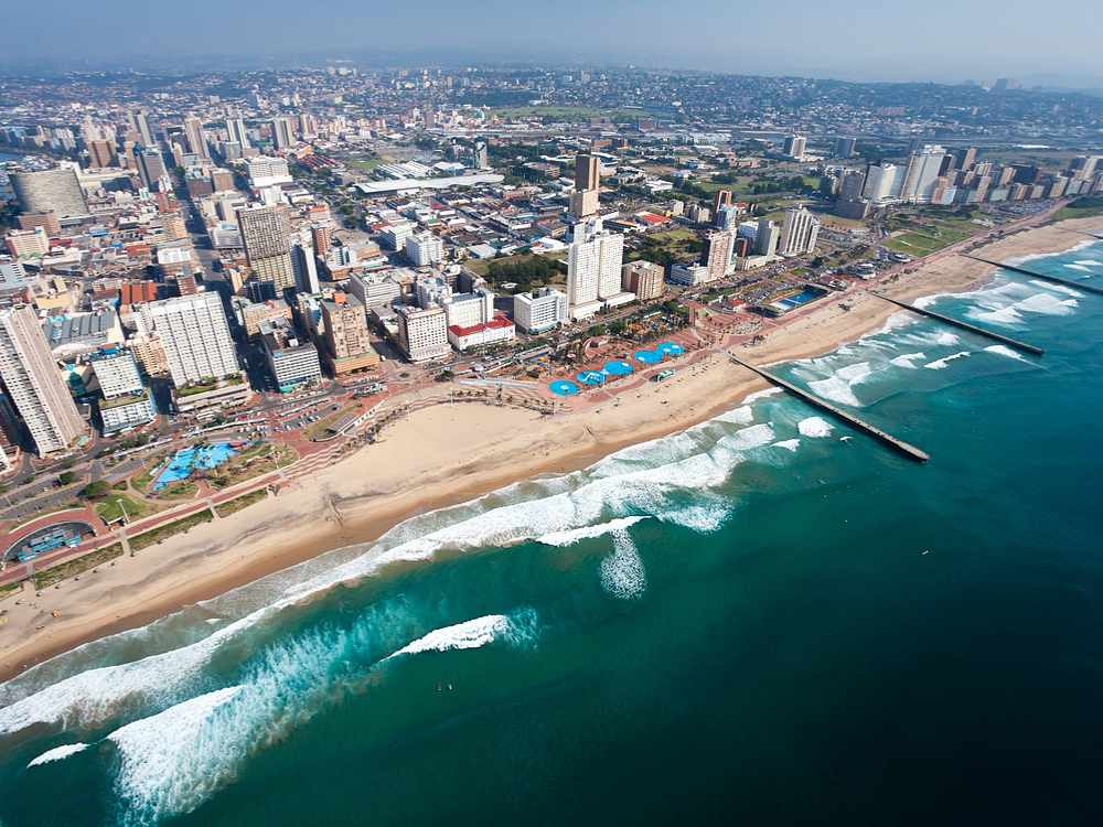 What To Do In Johannesburg and Durban, South Africa Golden Mile Beach in Durban South Africa RachelTravels