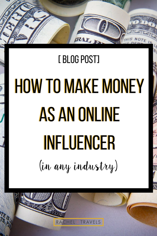 How to Make Money As An Online Influencer