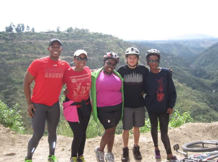 Quite, Ecuador - Black People Travel - Mountain Biking