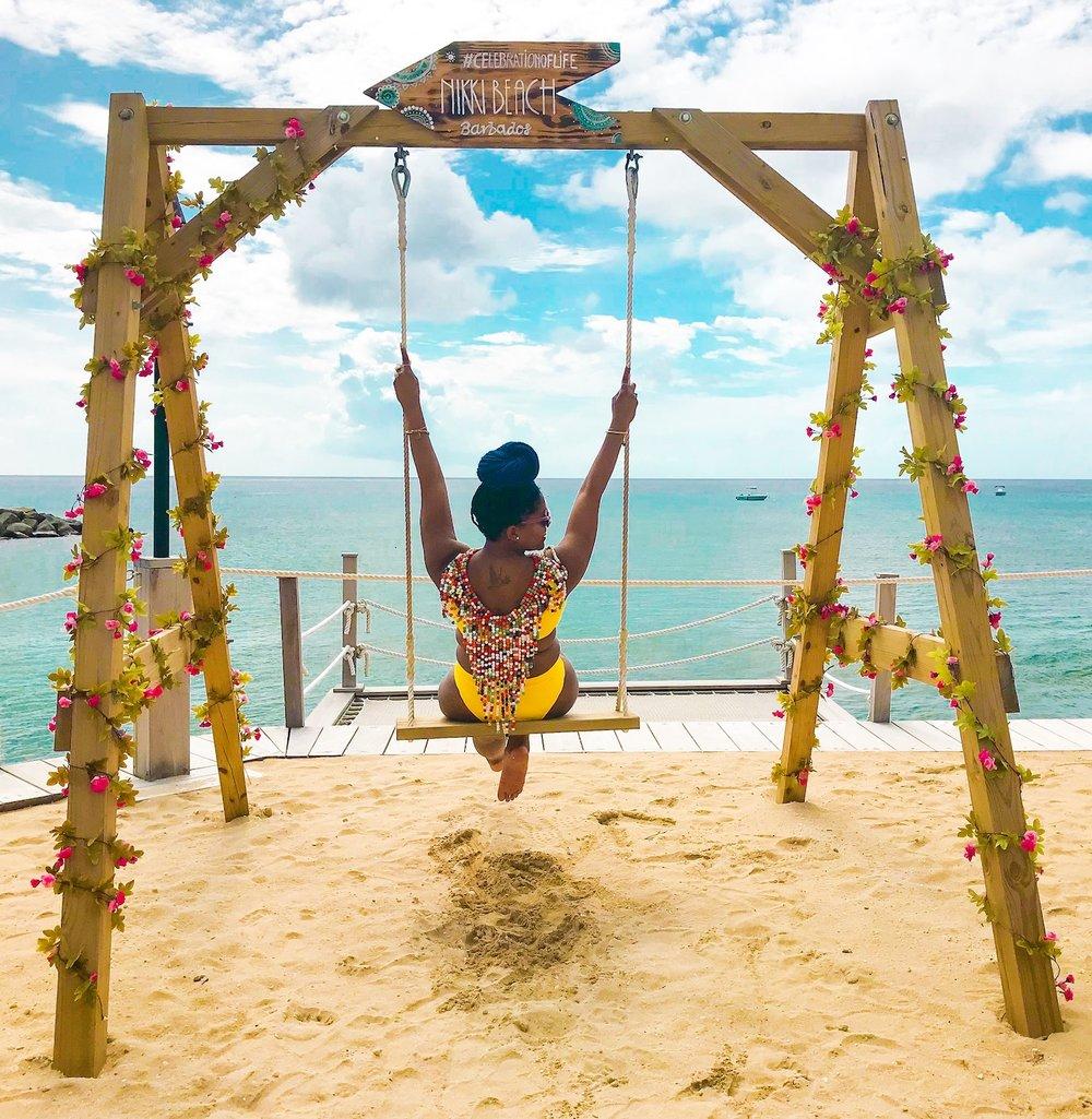 So much fun at Nikki Beach Barbados!