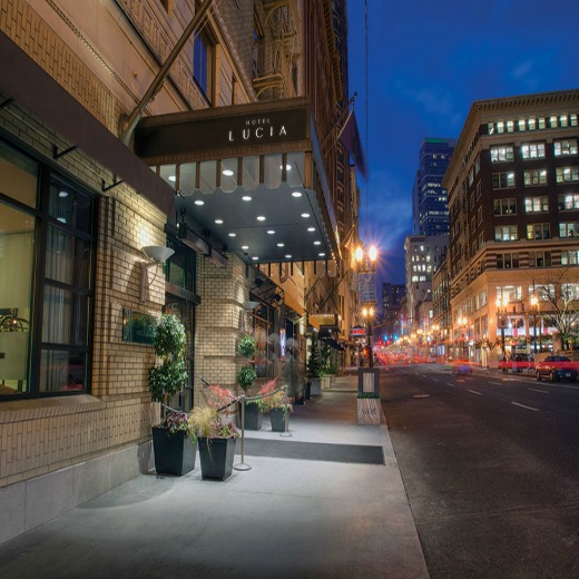 Hotel Lucia - Chic and stylish, Hotel Lucia epitomizes Portland, a city famed for pushing the boundaries of creativity.