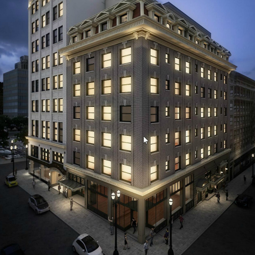 Woodlark - Opening December 15, 2018, two iconic buildings will come together as one when The Woodlark, a sophisticated 151-room hotel, opens in downtown Portland.