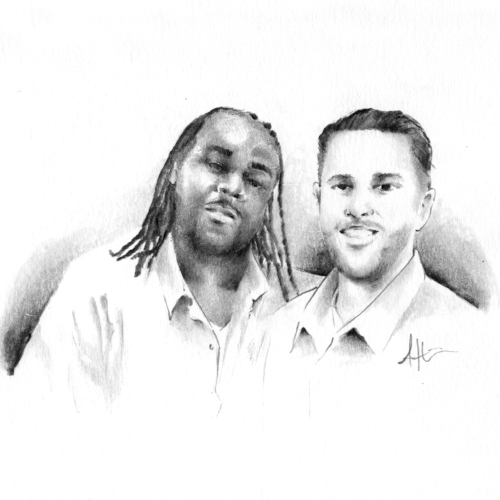 """AR and Drew"" by Antwan Williams"