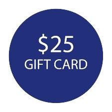 $25 Gift Card -