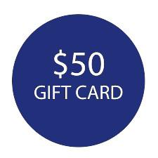 $50 Gift Card -