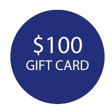 $100 Gift Card -