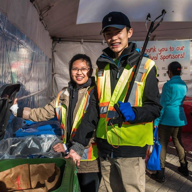Reduce Waste & Recycle - Richmond's Green Team will be on site helping festival goers properly dispose of their waste. Richmond events that use the Green Team have incredible waste diversion rates upwards of 80%.