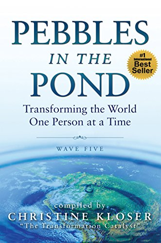 """Pebbles in the Pond – Wave Five: Another Tremendous Collection of Transformational Stories - What if your biggest challenges, struggles, and heartbreaks were actually preparing you for your greatest transformation and contribution to the world?Can your most difficult moments be the ones that shed the greats light in your life? The courageous visionaries who share their stories in Pebbles in the Pond – Wave Five, say Yes!The AuthorsIn this fifth wave of Pebbles in the Pond, you'll connect with a diverse group of messengers whose stories are unique, yet whose messages have a common thread of inspiration, hope, healing, transformation, and new possibilities. As they share their straight-from-the heart experiences, they invite you to discover how to transform your own challenges into the greatest gifts and blessings in your life.Lilia's Chapter entitled """"The Time is Now. Are You Ready?""""In Lilia's chapter she shares how she faced tremendous challenges in her life to finally claim her gifts as a messenger for Spirit encouraging others to claim their gifts and do what they came to do in this lifetime.Through all of the stories in Pebbles in the Pond, you will discover how one transformed life can cause ripples of good that expand out into the world – just like a """"pebble in the pond."""" You will find that it doesn't matter where you came from or what you've been through – you are loved and you do make a difference."""