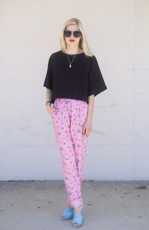 Pant Pairings, Liz Best, Liz-Best, Zara Top,  Nordstrom Top, Boy by Band of Outsiders Pants, Jeffrey Campbell Shoes, Nasty Gal Necklace