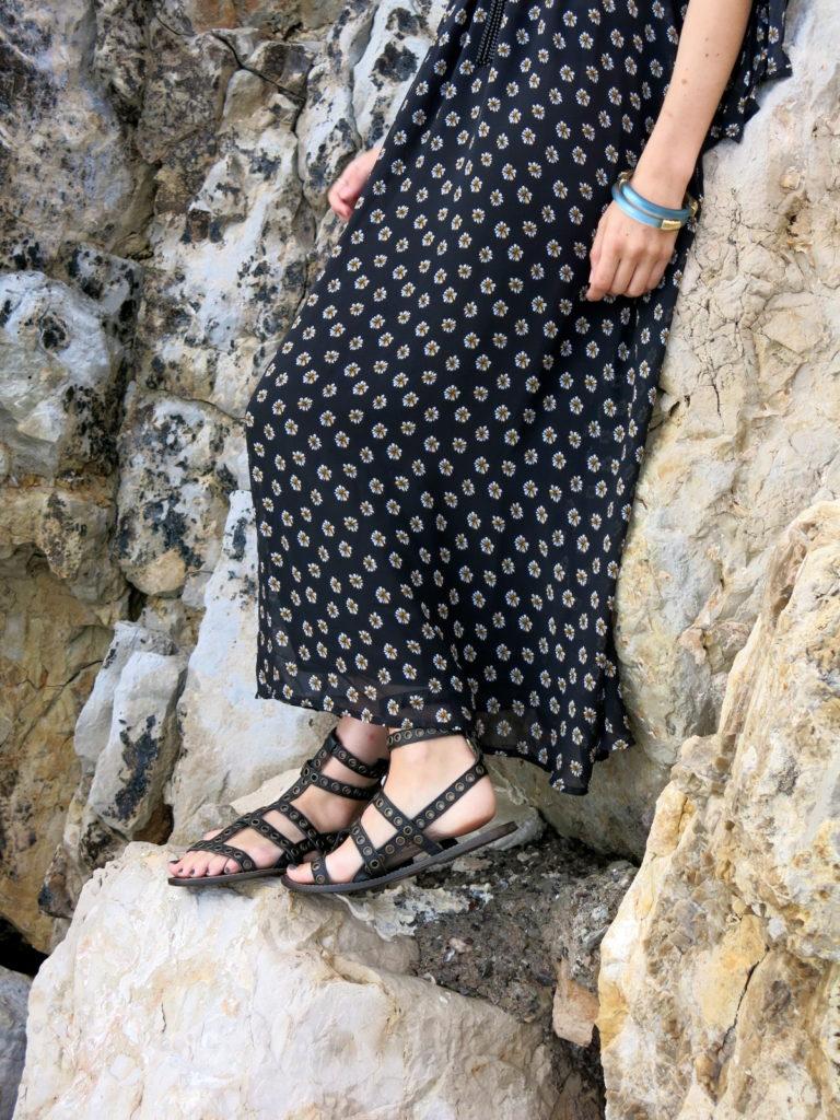 Tied Up, Liz Best, Liz-Best, Mimi Photography, Nice France, Free People Dress, Isabel Marant Shoes, Le Specs Sunglasses