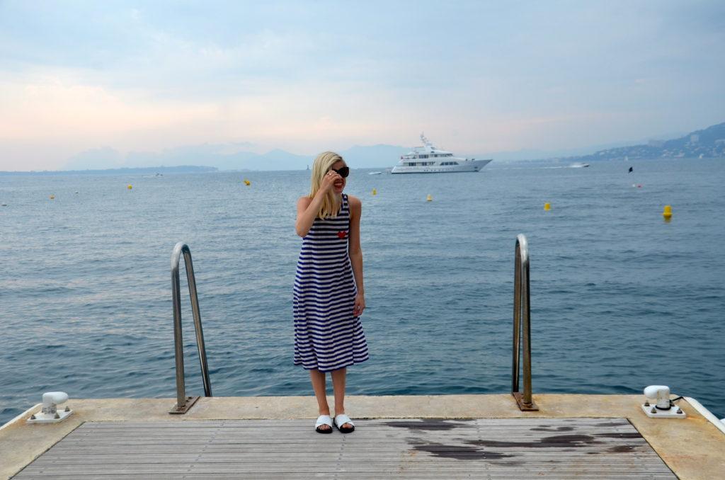 Stripes & Hearts, Liz Best, Liz-Best, Mimi Photography, Nice France, Sonia by Sonia Rykiel Dress, Sam Edelman Shoes