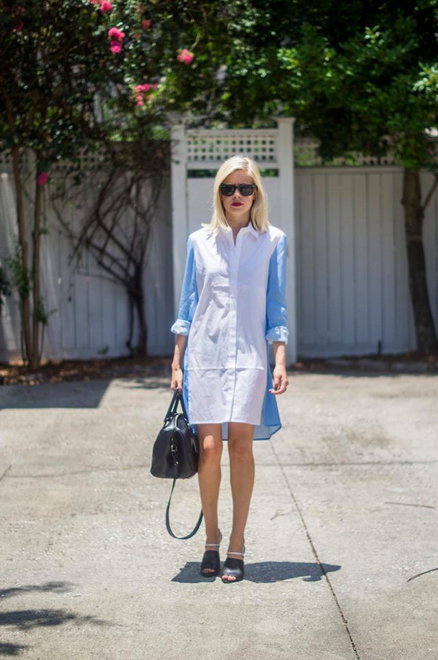 Shirtdressing, Liz Best, Liz-Best, Shopbop Dress, Alexander Wang Shoes, Nordstrom Bag, Ray-Ban Sunglasses
