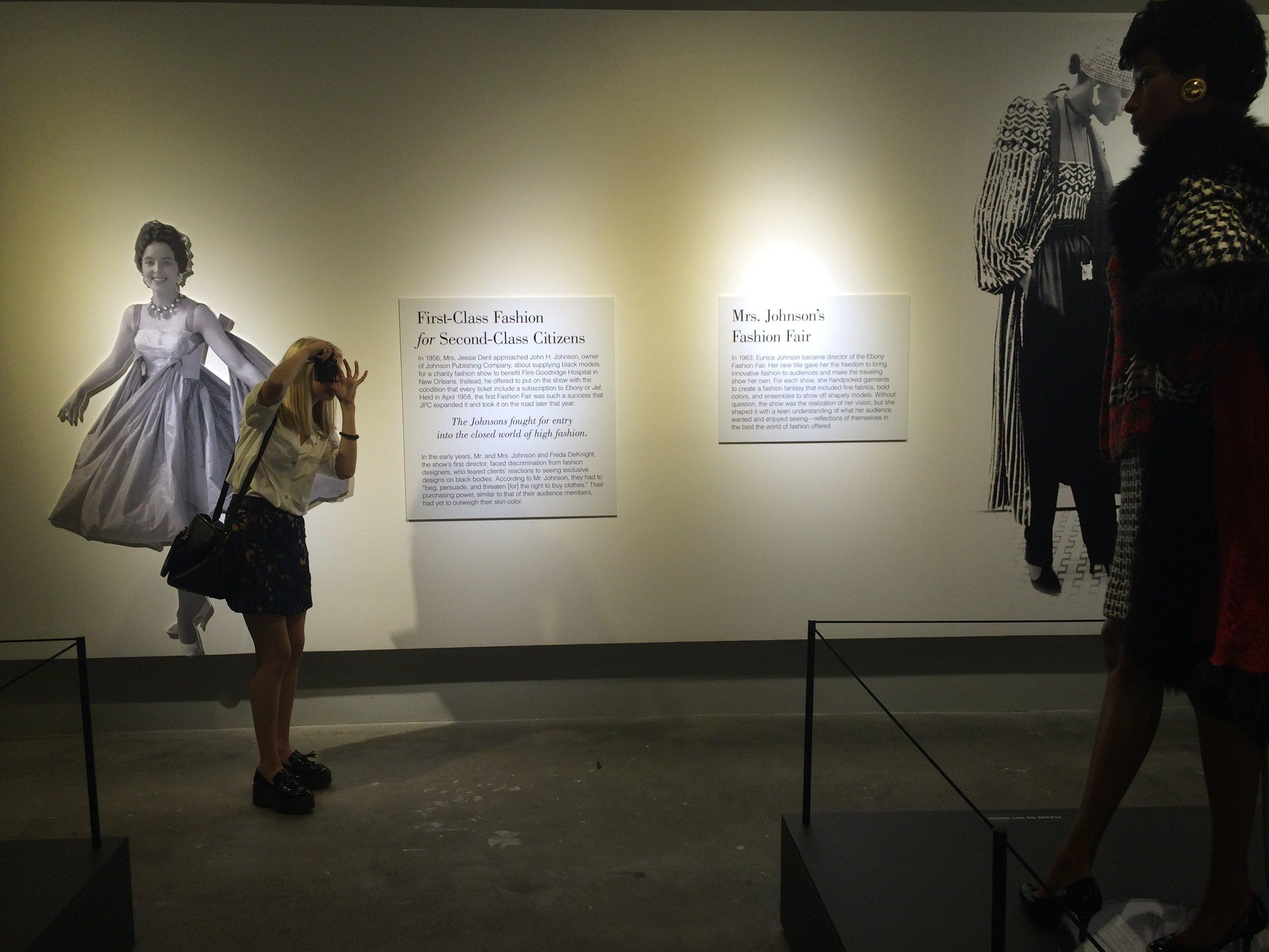 Atlanta Photo Diary: Ebony Fashion Fair Exhibit, Liz Best, Liz-Best, Museum of Design Atlanta, exhibition, fashion, Erica Johnson, Ebony magazine, history of fashion fair
