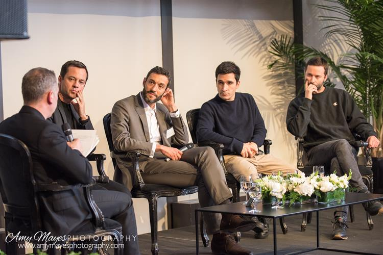 Miles Socha Editor in Chief WWD, Laurent Claquin - Head of Kering Americas, Alain Bernanrd - President & CEO Van Cleef & Arpels, Lazaro Hernandez and Jack McCoullough - Co-Founders Proenza Schouler