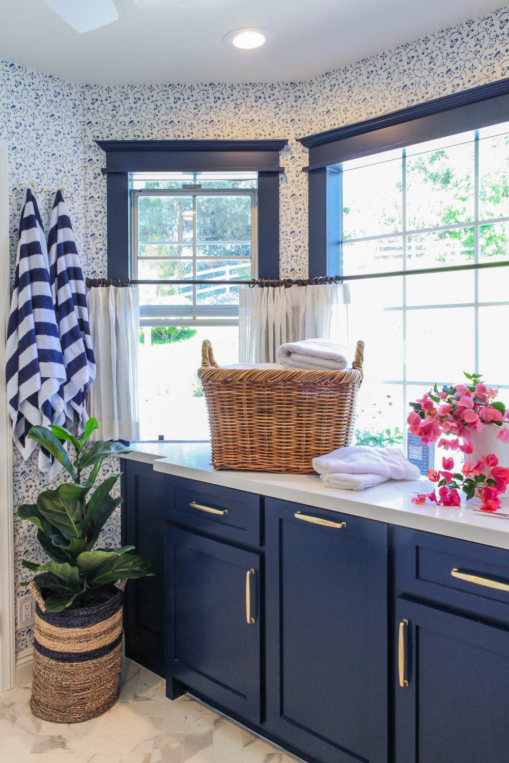A Freshly Picked Laundry Room