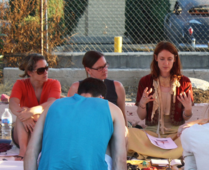 community workshops - Each Saturday, we offer free art workshops on-site in collaboration with local artists.