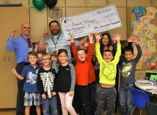 "$1000 Winner ~Frank Meyers ""3D Printing in 2nd Grade""~Willow Lane Elementary"