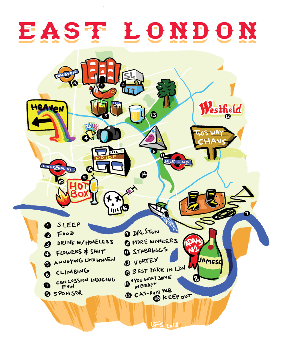 """""""EAST LONDON FOR A FRIEND"""""""
