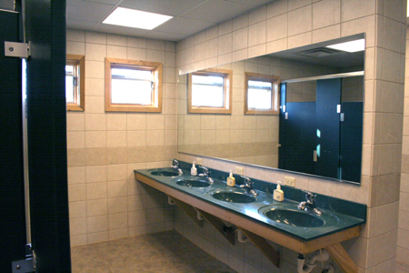 1 of 2 Shared Bathrooms
