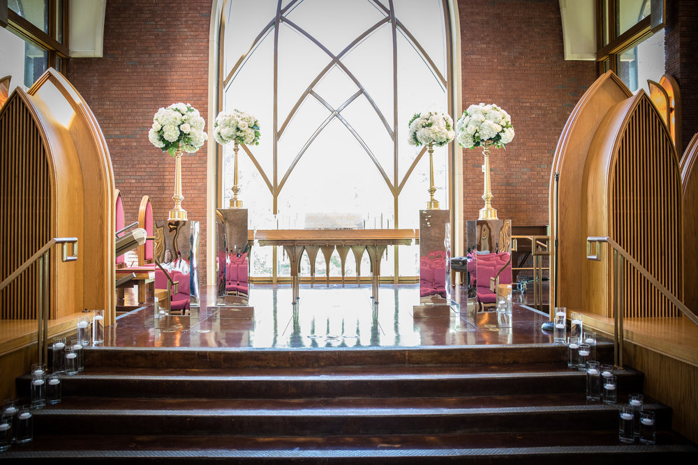 The Masons - Where do we begin? From the very beginning of our wedding planning process, decor was the most important element of our big day. With that being said, we wanted to find a vendor that not only understood our vision, but could execute our vision. We found that and more with Utopian Events! From the florals, candles, linens and other unique elements we were able to personalize all of the details to transform our venue. Utopian Events also worked very well alongside our other vendors to make our dream day come true! Ms. Tracy was a joy to work with! She was very patient with our changes and provided examples and suggestions that not only fit our vision but our budget. She truly did go the extra mile to make our day even more special. She added special touches here and there that truly blew us away! The Chapel was simple, yet every so classic! And the reception venue was absolutely AMAZING! They were both truly more than we could have imagined. We couldn't have found a better person and company to work with! Thank you Ms. Tracy, Shushil, and the entire Utopian Events staff for being so great at what you do. Lots of Love, Mrs. & Mrs. Mason