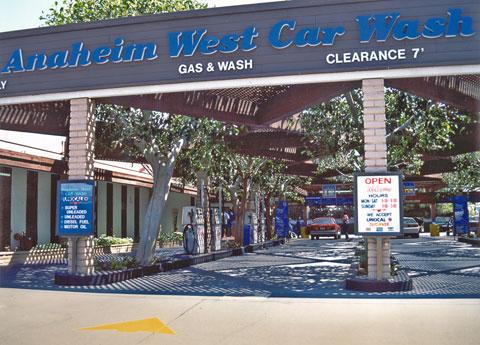 Anaheim West Car Wash & Car Care Facility