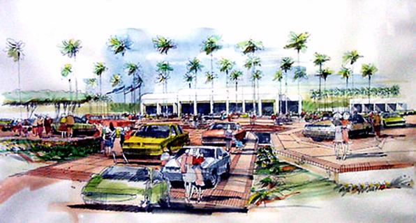 Santa Ana Auto Mall