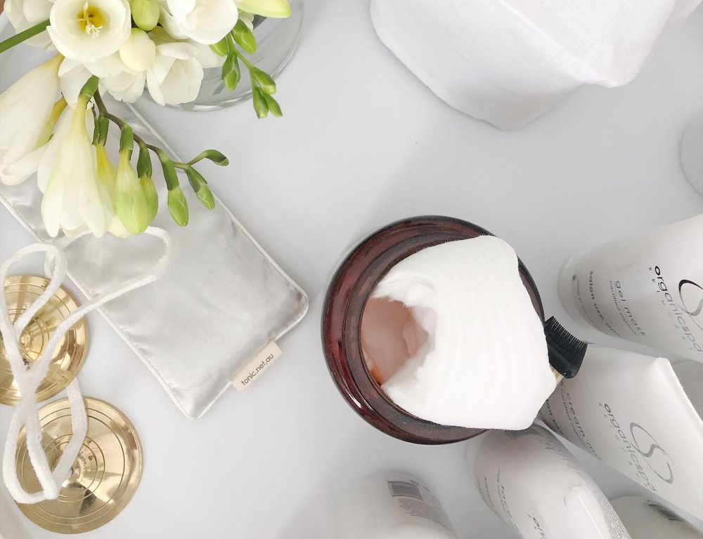 Products - I use and recommend organic spa skincare; an Australian certified organic and highly active product developed and created in the Byron Bay hinterland, boasting an extensive range of products to address a myriad of concerns with effective results without compromising on standards and organic ethos.