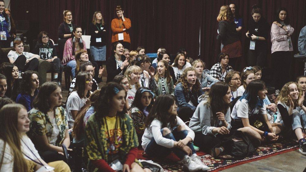 Empowerment. Inclusivity. Diversity. Community. MUSIC. -