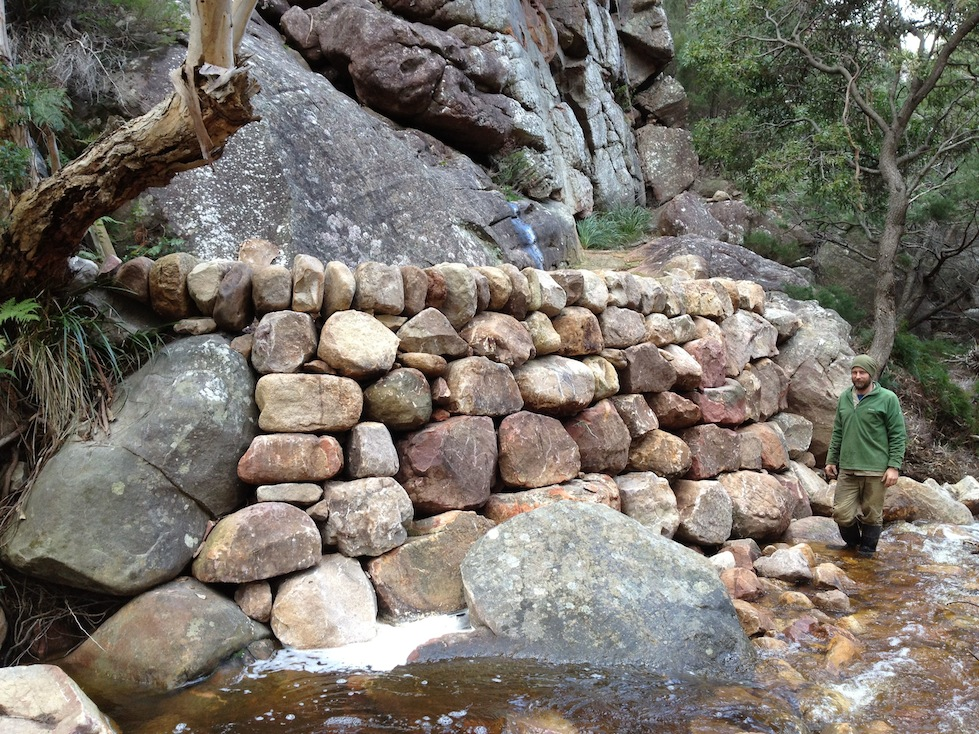 River Bed Wall