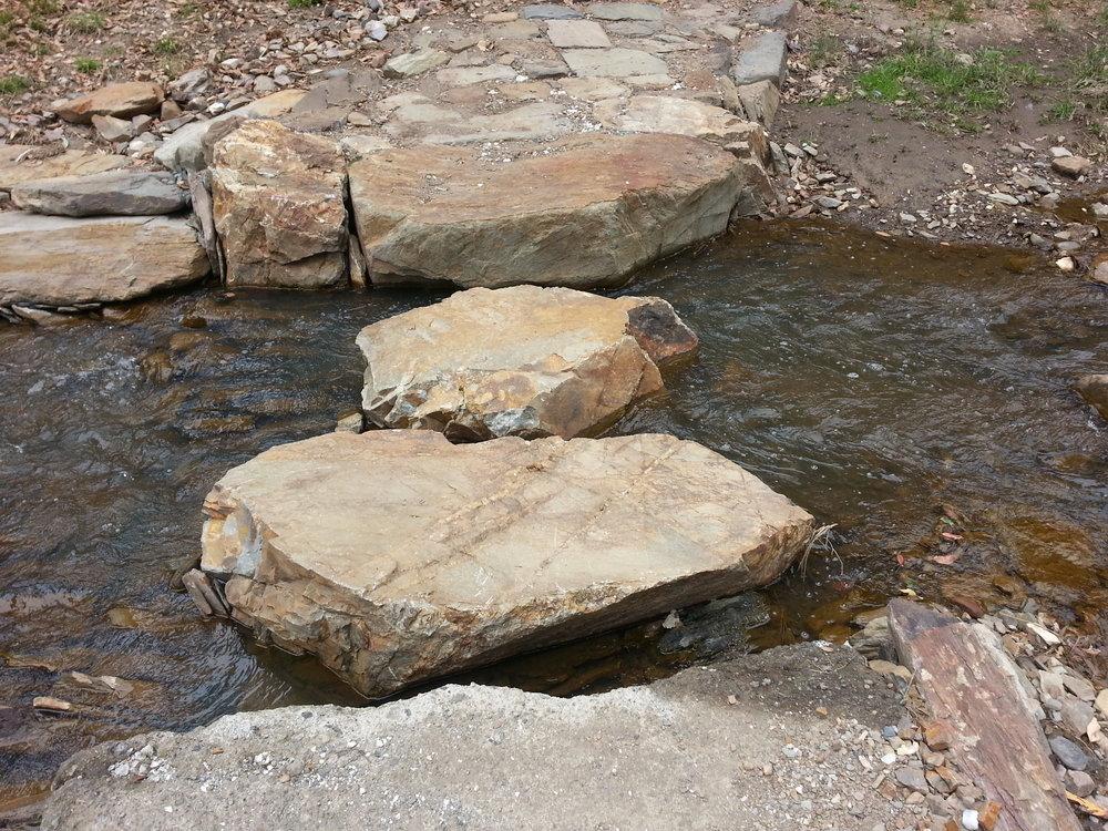 Stepping Stone Water Crossings