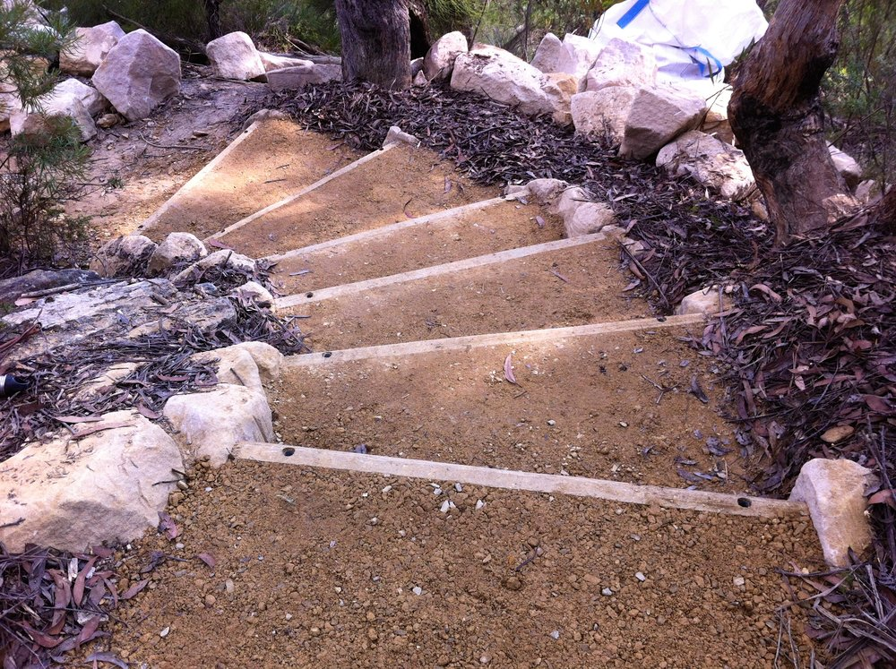Timber Steps & Staircases