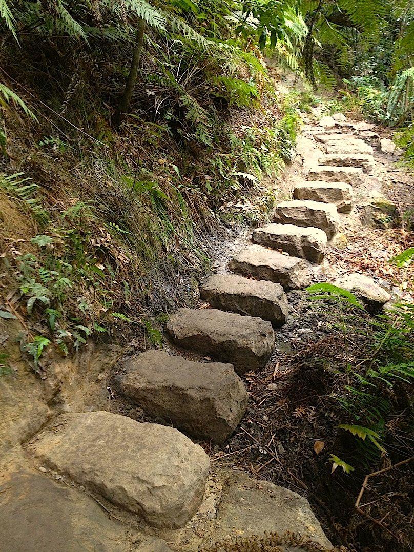 Brett's stepping stones in bedrock.jpg
