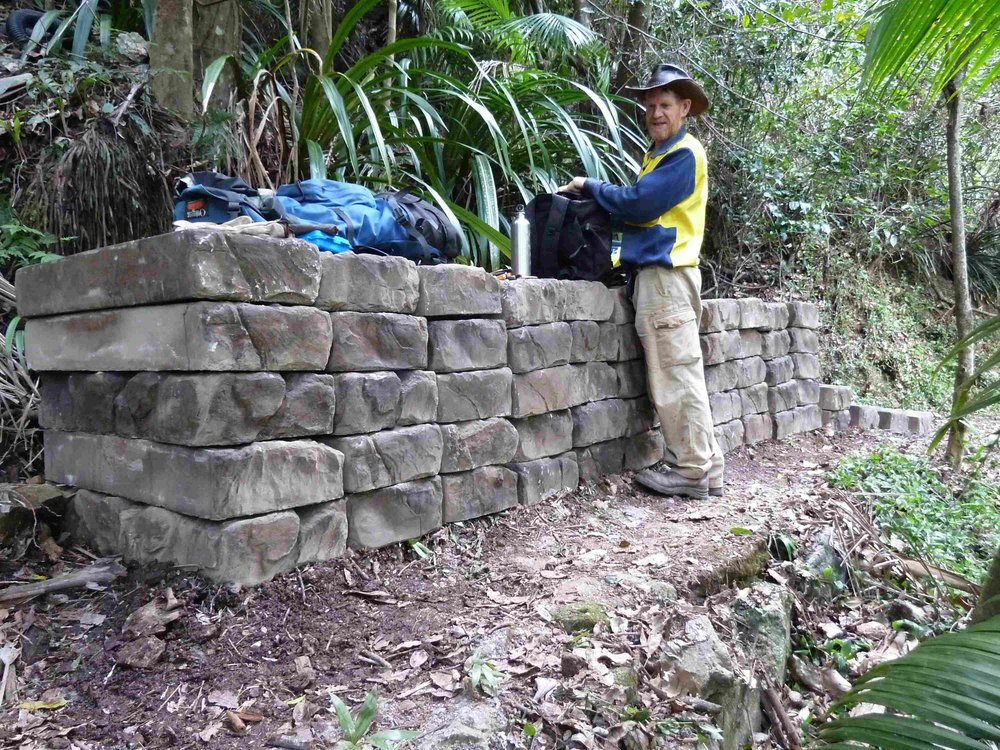 60 steps delivered to the site