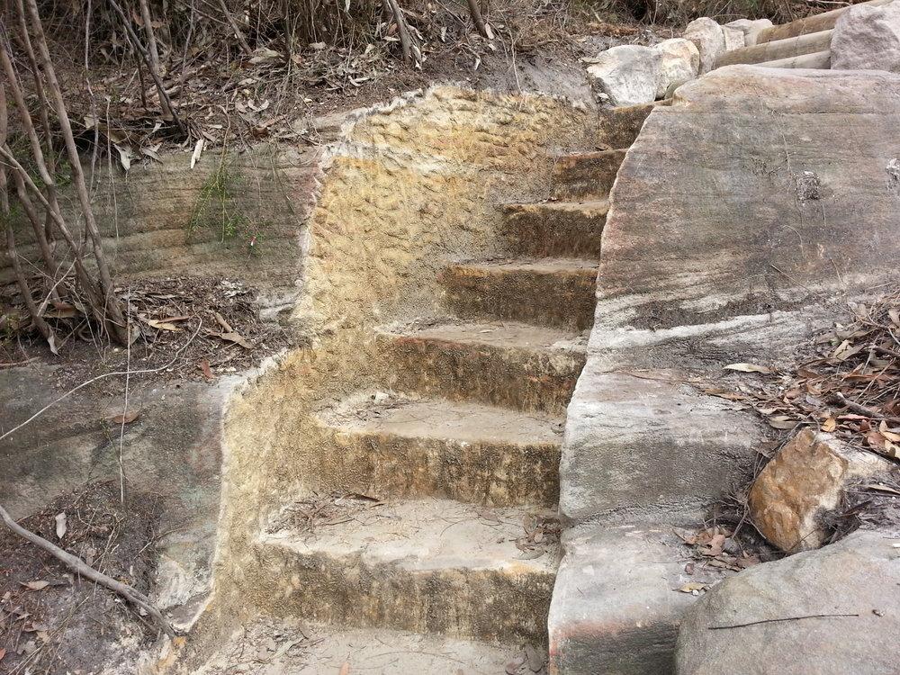 Chiseled Bedrock Steps